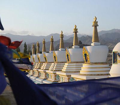 Stupas du Ladakh