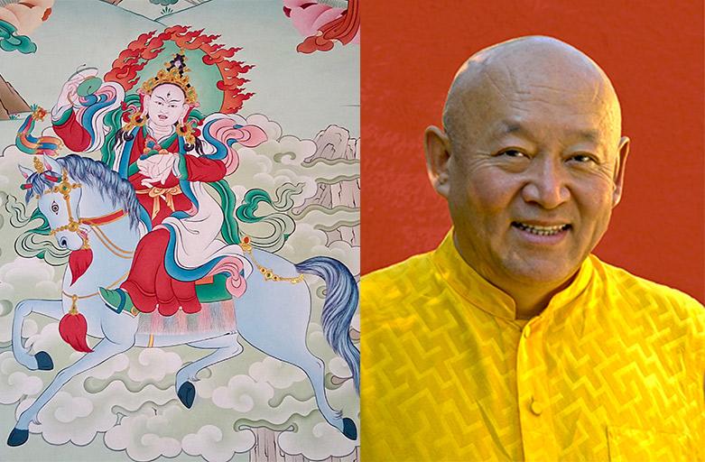 Une occasion unique de recevoir une initiation de Sa Sainteté le Drikung Kyabgön Chetsang