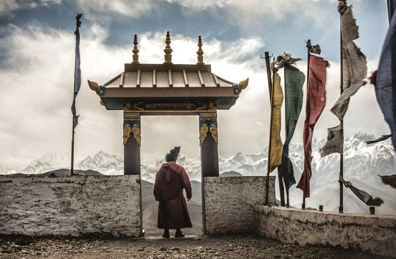 Le yogi des sommets, reportage dans Le Monde