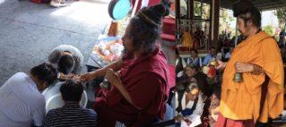 རྣམ་འཇོམ་འཁྲུས།  Dorje Namjom Washing Puja
