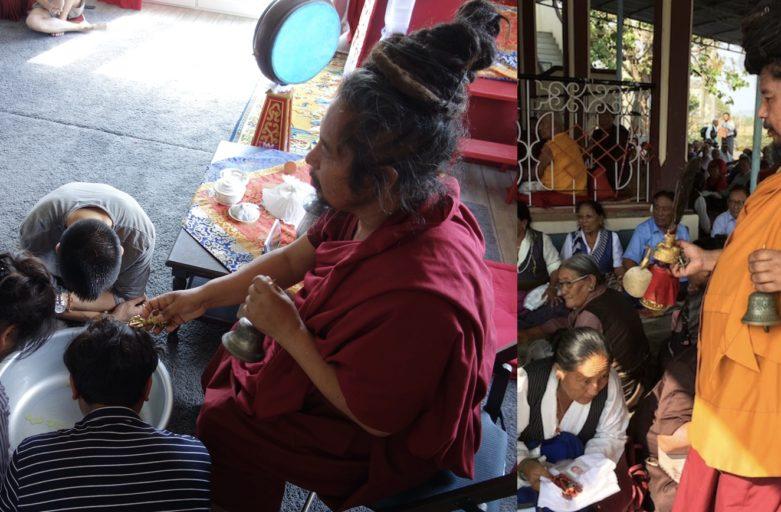 རྡོ་རྗེ་རྣམ་པར་འཇོམས་པ།   Dorje Namjom Washing Puja