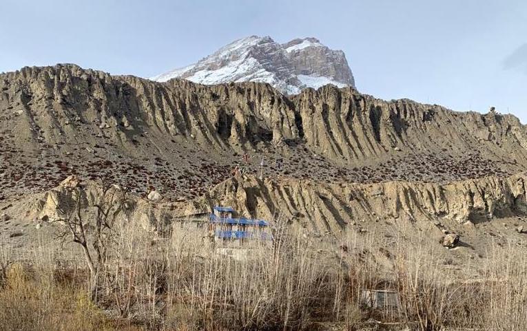 Khenpo K. Tashi Rinpoche au Mustang